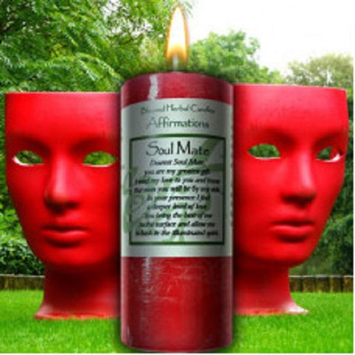 Affirmation Candle Soul Mate | Earthworks