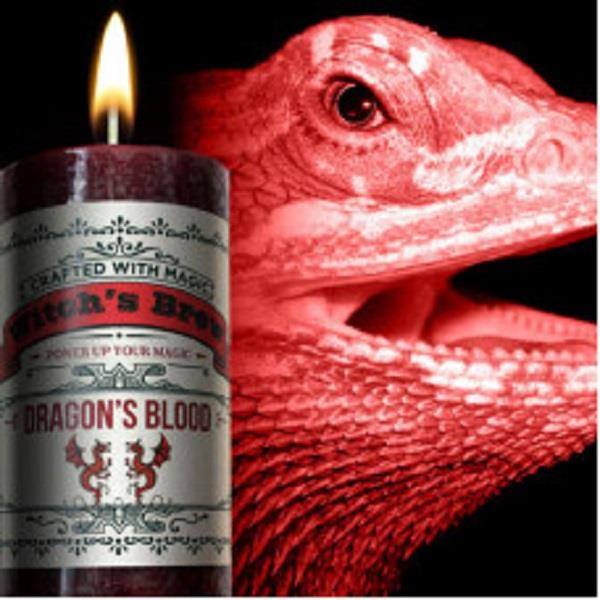 Witches Brew Candle Dragons' Blood