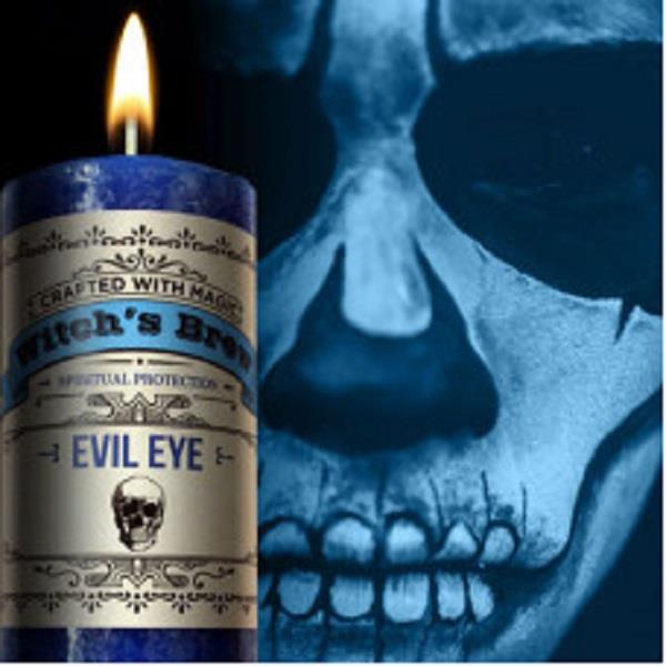 Witches Brew Candle Evil Eye | Earthworks