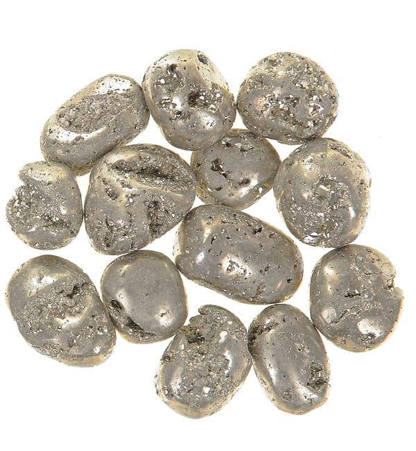 Iron Pyrite Tumbled