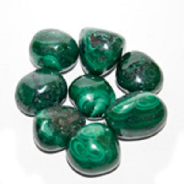 Malachite Tumbled | Earthworks