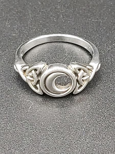 Ring Moon Sterling Silver | Earthworks