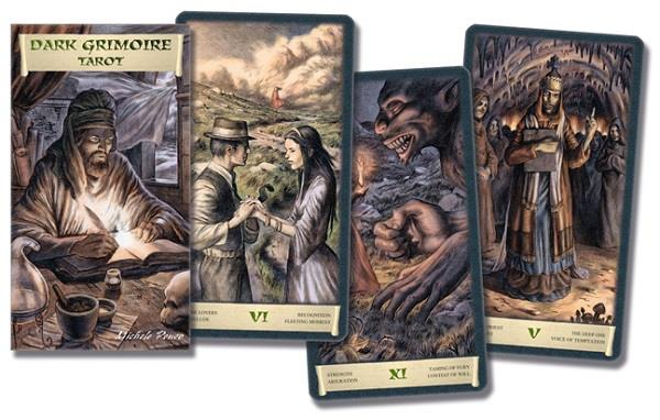 Dark Grimoire Tarot | Earthworks