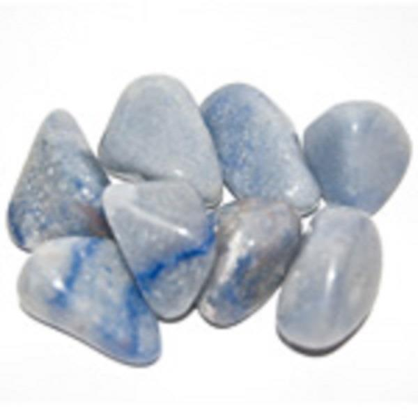 Blue Quartz Tumbled | Earthworks