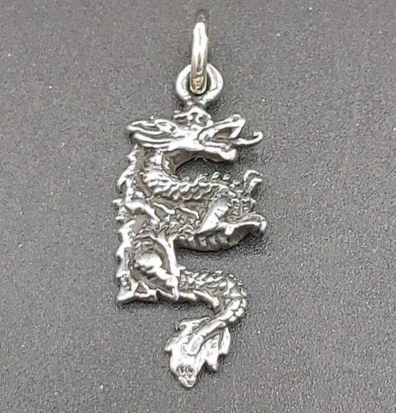 Pendant Chinese Dragon Sterling Silver