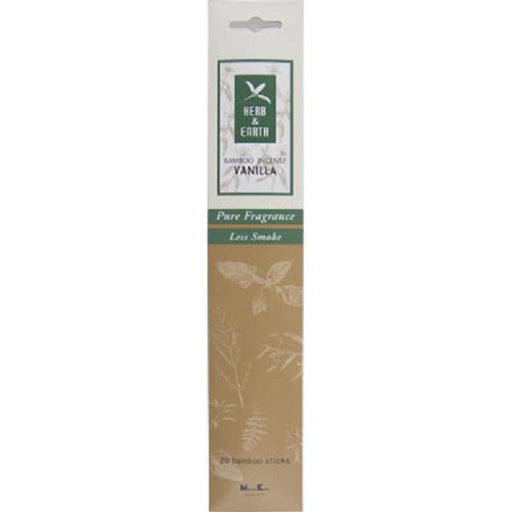Herb & Earth Incense Vanilla | Earthworks