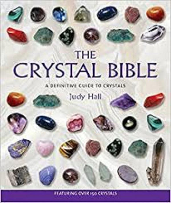 Book The Crystal Bible by Judy Hall | Earthworks