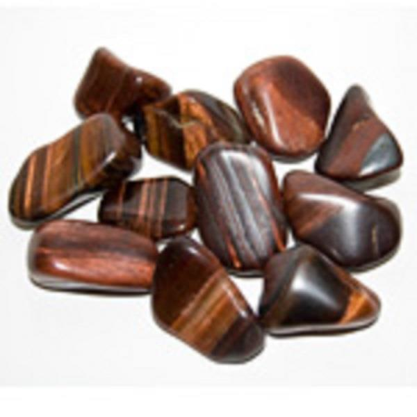 Red Tiger's eye Tumbled | Earthworks