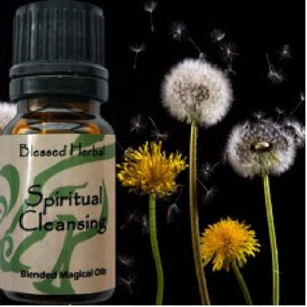 Blessed Herbal Oil Spiritual Cleanse | Earthworks