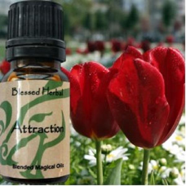 Blessed Herbal Oil Attraction | Earthworks