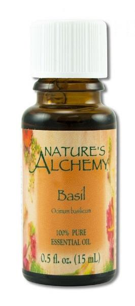 Nature's Alchemy Oil Basil 15ml | Earthworks