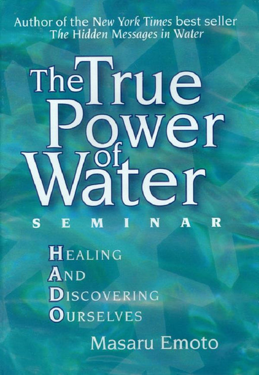 Book The True Power of Water | Earthworks