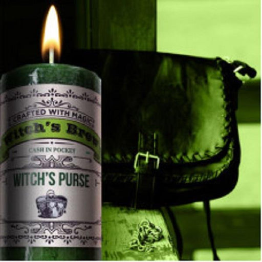 Witches Brew Candle - Witches Purse | Earthworks
