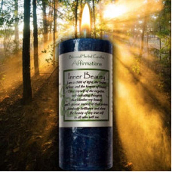 Affirmation Candle Inner Beauty | Earthworks