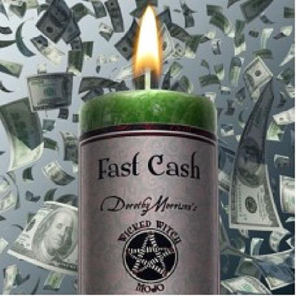 Wicked Witch Mojo Candle Fast Cash | Earthworks