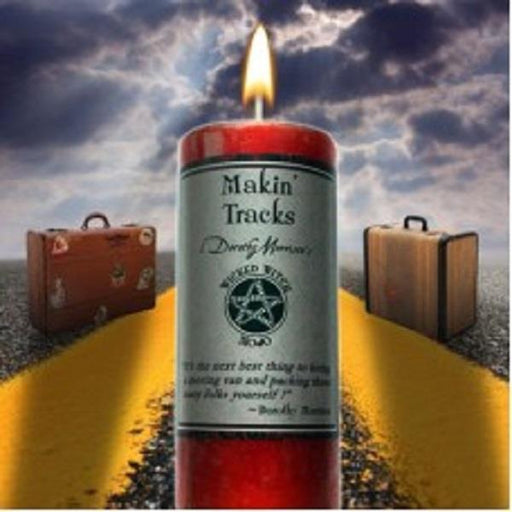 Wicked Witch Mojo Candle Makin Tracks | Earthworks