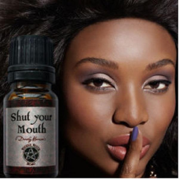 Wicked Witch Mojo Oil Shut Your Mouth | Earthworks