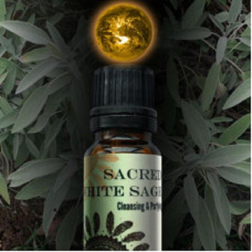 World Magic Oil - Sacred White Sage | Earthworks