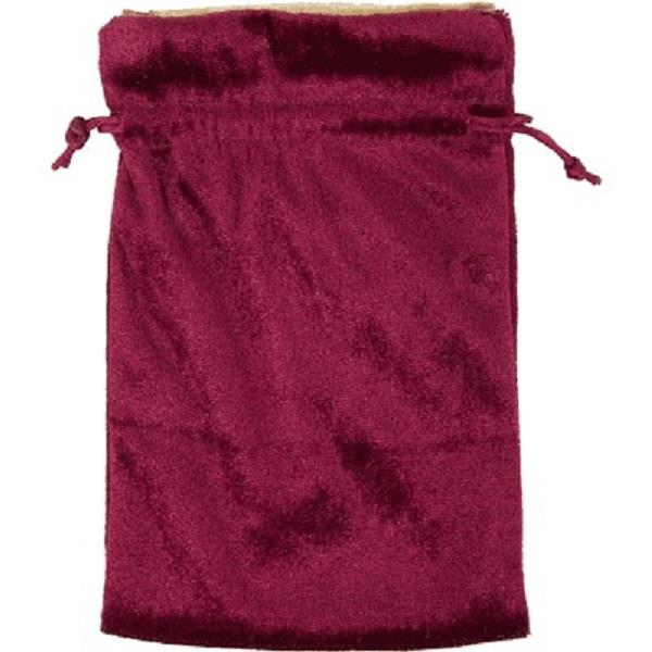 "Velvet Bag Burgundy 5""x8"" 