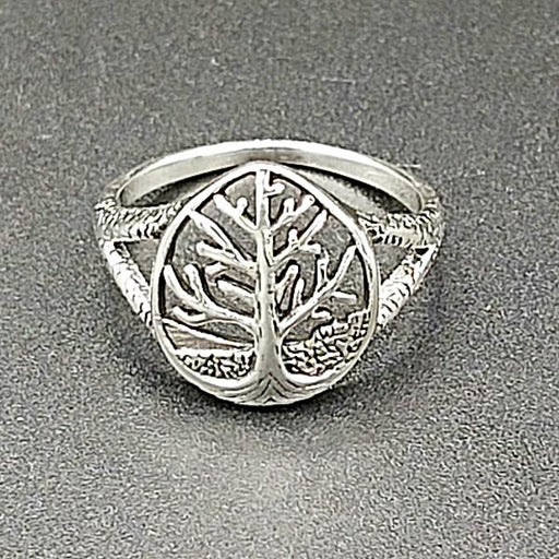Ring Tree of Life Sterling Silver | Earthworks
