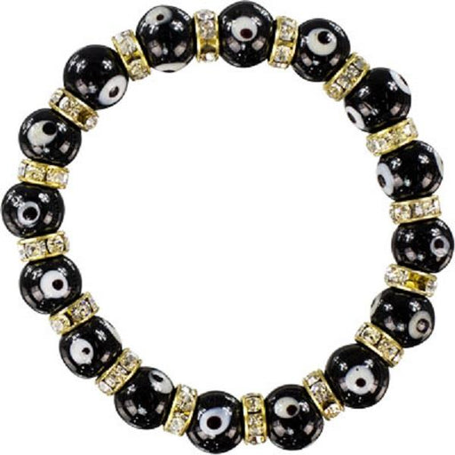Evil Eye Bracelet Black | Earthworks