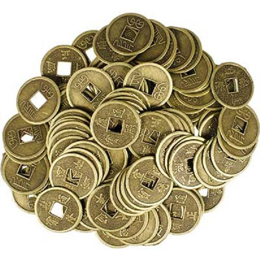 20mm I Ching Coin 1 pair