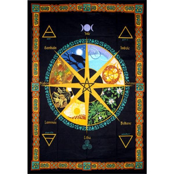 Tapestry Pagan Calender | Earthworks