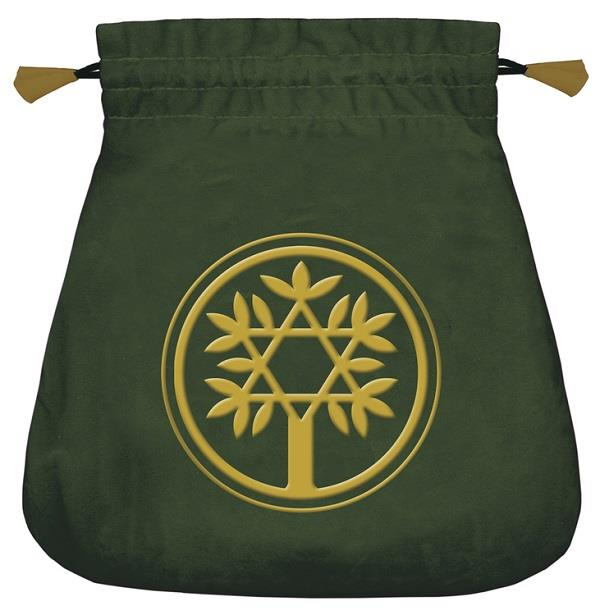 Tarot Bag Celtic Tree Velvet | Earthworks