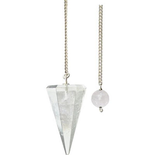 Pendulum Clear Quartz | Earthworks