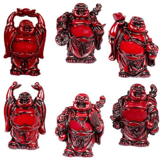 "3"" Red Buddha 