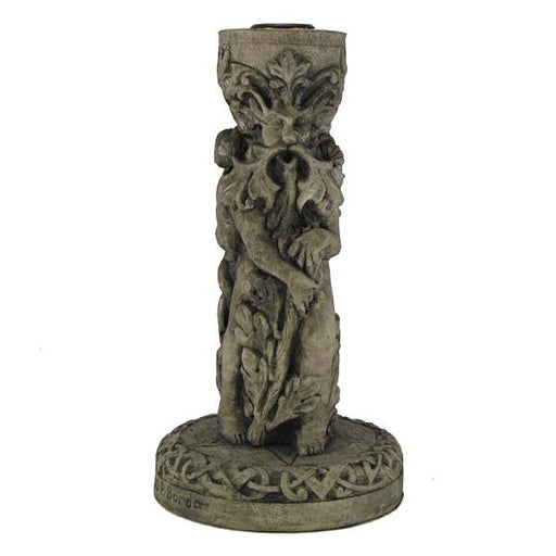 Candle Holder God Stone Finish | Earthworks
