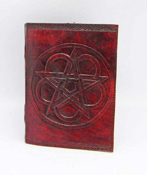 Leather Journal Pentacle | Earthworks
