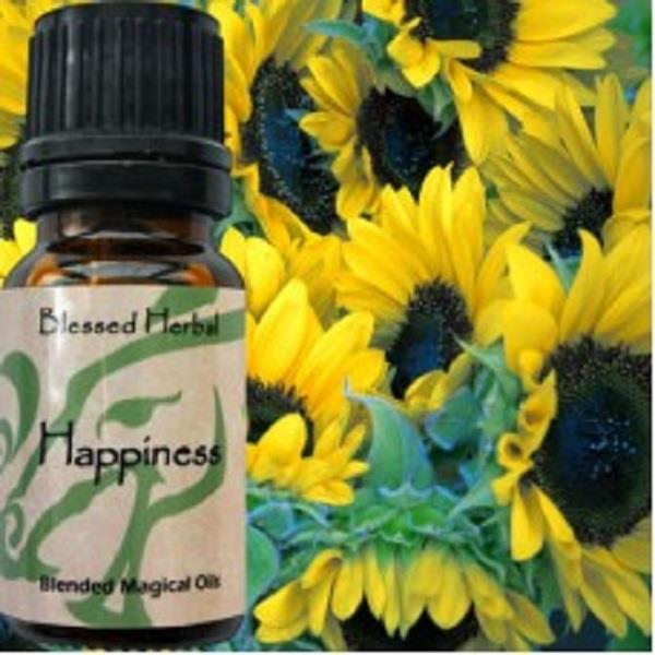 Blessed Herbal Oil Happiness | Earthworks