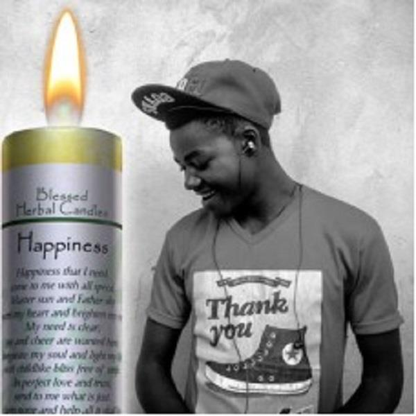 Blessed Herbal Candle Happiness | Earthworks