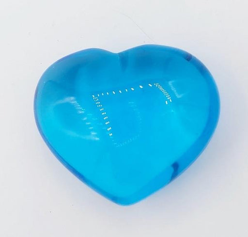 Puffy Heart 45mm Blue Obsidian | Earthworks