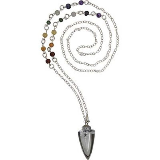 Pendulum Chakra with Clear Quartz | Earthworks