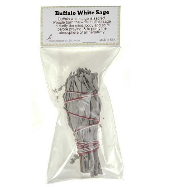 Buffalo White Sage Smudge 5"