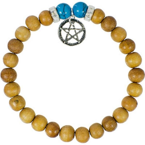 8mm Bracelet Wooden Pentacle | Earthworks