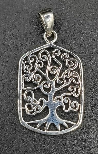 Pendant Tree Of Life Sterling Silver