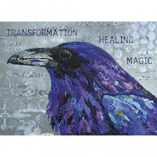Greeting Card Healing Raven | Earthworks