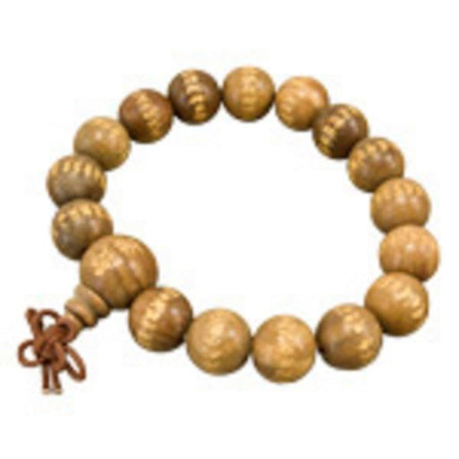 Wooden Prayer Mala Bracelet | Earthworks