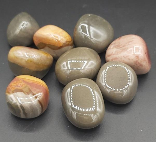 Polychrome Jasper Tumbled