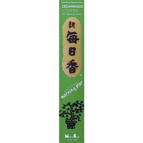 Morningstar Incense Cedarwood | Earthworks