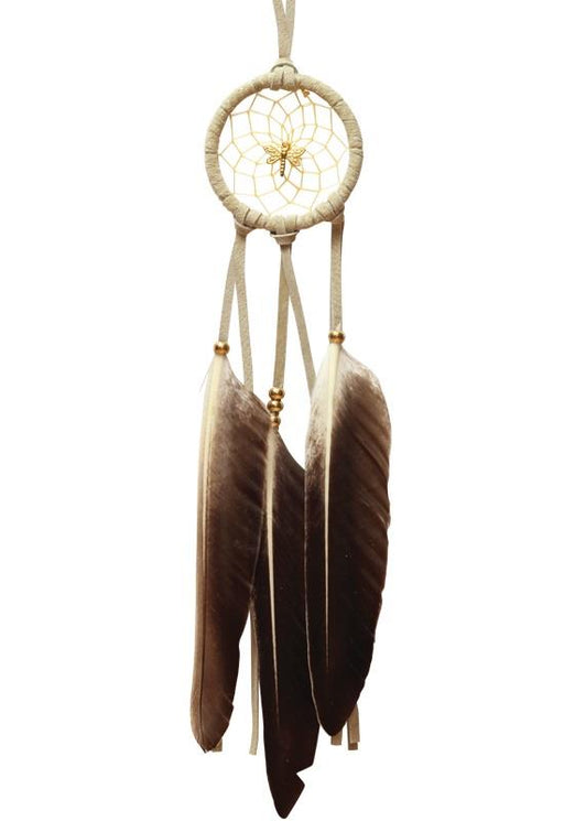 "2"" Woodland Dreamcatcher with Dragonfly 