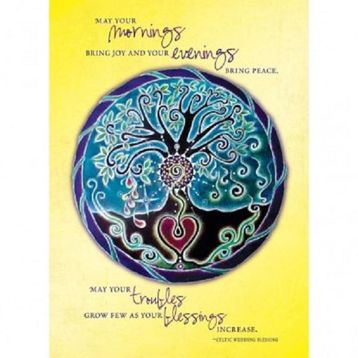 Greeting Card Tree of Life Wedding Blessing| Earthworks