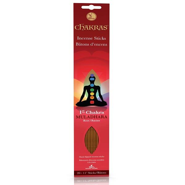 Chakra Incense Root 20pk | Earthworks