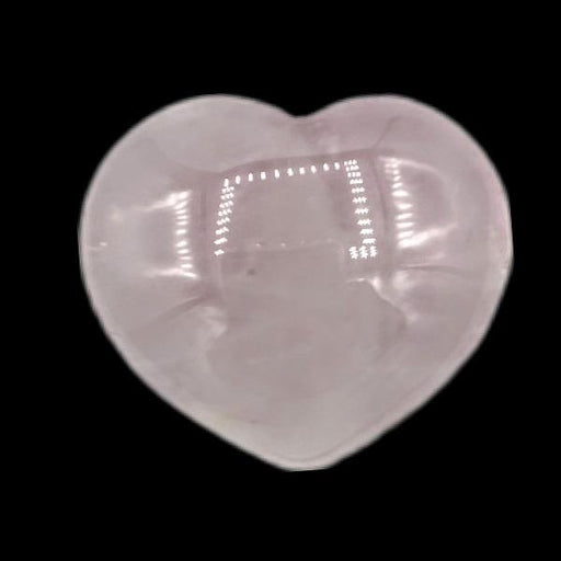 Puffy Heart 45mm Rose Quartz | Earthworks