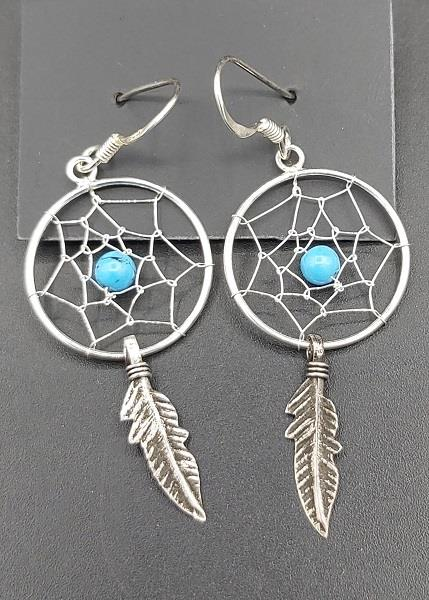 Earrings Dreamcatcher Sterling Silver