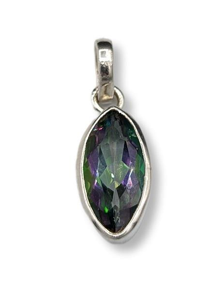 Pendant Mystic Topaz Sterling Silver