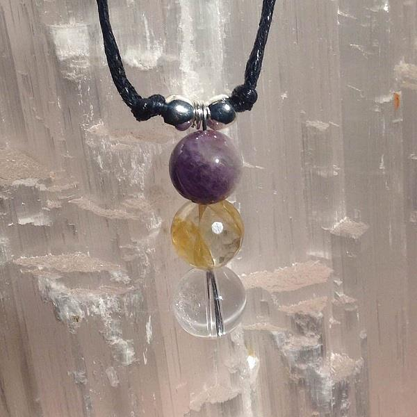 Spell Me Necklace Aura Cleanse | Earthworks